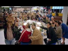 KLM | The christmas shared meal on airport