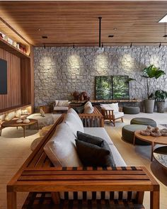 Living Roon, Condo Living, Cottage Living, Home Living Room, Living Room Designs, Living Room Decor, Living Spaces, Interior Exterior, Interior Architecture