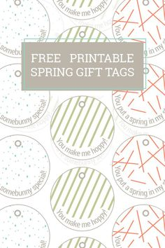 Printable easter decor cards diy free printable and napkin rings free printable easter gift tags negle Image collections