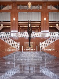 Genius in Flight - The Grand Lobby in Reynolds Hall at The Smith Center - Las Vegas, NV
