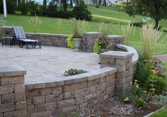 Retaining Wall Design pilers   ... Collection Gallery Archives – Leave Your allan block retaining wall