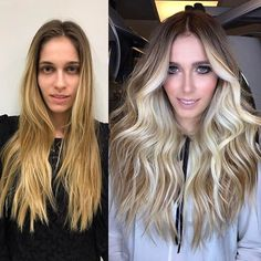 40 Fantastic Balayage Hair Styles That You Get With Minimal Spending Update) - Brunette To Blonde, Blonde Hair, Bilage Hair, Natural Looking Highlights, Hair Contouring, Hair Color Techniques, Hair Shades, Haircut And Color, Hair Color Balayage