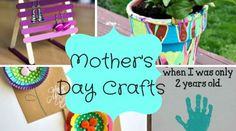 EASY Mother's Day crafts! Quick crafts for mom! jamiecapone.com