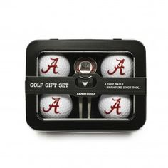 Alabama Crimson Tide 4 Ball Golf Gift Set