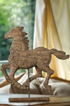Galloping Horse Figurine by Budget Deals: Revamp With Vintage Decor on @HauteLook