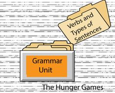Verbs and Types of Sentences;: activities and worksheets.