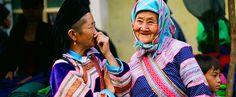 Vietnamese ethnic minorities H'Mong in Sapa