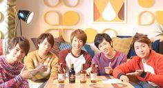 嵐-キリンビール / Arashi in Kirin Beer CM Cnblue, Minhyuk, Jonghyun, Shinee, Kirin Beer, You Are My Soul, Ninomiya Kazunari, Japanese Love, Ft Island