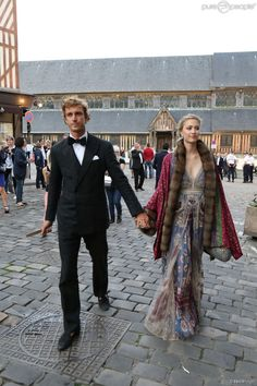 The wedding of Noor Fares and Alexandre Al Khawam 27 JUN Andrea Casiraghi ,Taiana Santo Domingo and Sacha Casiraghi attended wedding of Noor Fares and Alexandre Al Khawam at l'Eglise Sainte Catherine in Honfleur, France with Pierre Casiraghi and Beatrice Borromeo