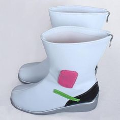 Overwatch Cosplay Dva Shoes/Boots (Flat)