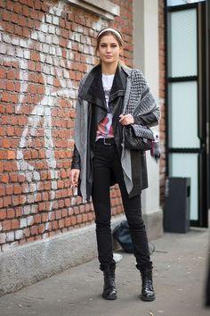 Best Milan Fashion Week Street Style Fall 2015 - Street Style from Milan Fashion Week