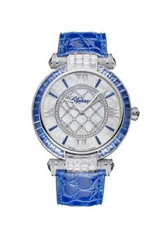 Imperiale Mother-of-Pearl Diamonds Dial Ladies Watch 384239-1013 High Jewelry, Jewelry Accessories, Amazing Watches, Stylish Watches, Luxury Watches, Chopard, Gold Work, Gold Hands, Pearl Diamond