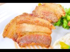 Fried Streaky Pork with Fish Sauce