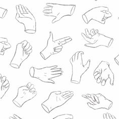 Pick a finger/ hand gesture ✌ #nightowl #illustration #pattern