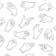 Pick a finger/ hand gesture ✌ #nightowl #illustration #pattern