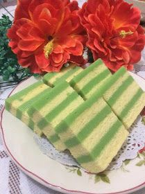 Maple Grace Garden 枫林温馨花园 : ~~ Pandan Layer Cake ❤ 香兰千层蛋糕 ~~