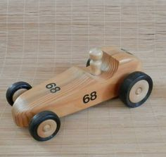 Wonderful Wooden Toy Race Car