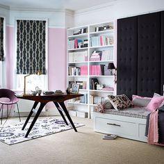 Wohnideen Arbeitszimmer Home Office Büro - Landhausstil Büro Zu ... Schlafzimmer Und Bro In Einem Raum
