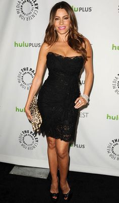 Sofia Vergara you can't draw a woman with strait lines