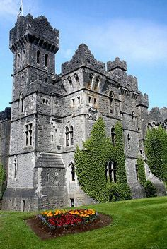 Ashford Castle, County Mayo, Ireland is a medieval castle that has been expanded over the centuries and turned into a five star luxury hotel. It was previously owned by the Guinness family. by Kim Roper Beautiful Castles, Beautiful Buildings, Beautiful Places, Wonderful Places, Wonderful Time, Chateau Medieval, Medieval Castle, Oh The Places You'll Go, Places To Travel