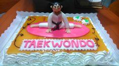 Tarta taekwondo cpn fondant.