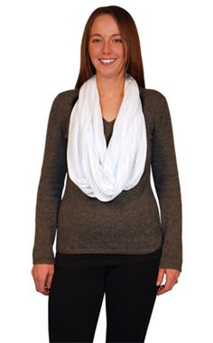 Bali Seamless Rayon Jersey Infinity Scarf- Made from luxurious liquid draping 100% Rayon Jersey. Nothing else quite like it! The ultimate fabric for an infinity scarf! All edge seams are rolled and stitched. This continuous circle scarf (tubular) has NO seam join at the neck! So it lays nice and smooth!