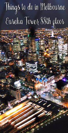 Melbourne's highest tower, Eureka Tower is the second highest of Australia.