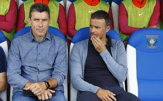 Cuarta Jornada de Liga. Leganés-FCB (1-5). Unzué y Luis Enrique, dos cracks en el banquillo.