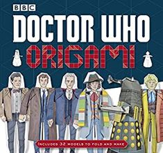 Every Doctor Who Annual from the 80s, 70s and 60s | SimplyEighties.com Doctor Who Shop, Doctor Who Gifts, Doctor Who Craft, Doctor Who Party, Bbc Doctor Who, Twelfth Doctor, Doctor Who Origami, Origami Yoda, Origami Artist