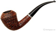 A Ser Jacopo Picta Picasso Sandblasted Rhodesian...this graceful, sinuous Rhodesian-meets-Calabash shape is a spot-on rendition of the briar being smoked by an anonymous young gentleman in a simple, yet very illustrative sketch by Pablo Picasso from the year 1900.
