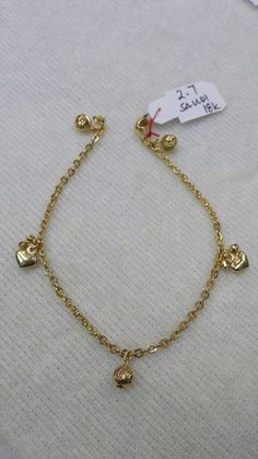For sale:  18K #Saudi #Gold #Charm #Bracelet  More #Jewelry displayed at  FB.com/KatrinasClothingShop  #shoppingPh #onlineShoppingph #onlinesellerPh #onlinestore #onlinestoreph #katrinasclothing #katrinasclothingjewelry #jewelryph #accessoriesph #braceletph  For inquiries, message us at  FB.com/KatrinasClothingShop