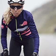 dhb Blok Winter Dasher Jersey & Blok Bib Tights - perfect combo for chilly November rides. @emilycollinsnz #cycling #colorful #instagood