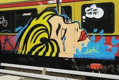DON'T CRY BABY  @gleisbett_boogie _______________________ #madstylers #graffiti #graff  #style #stylewriting #summer #sprayart