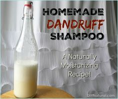 Of the natural remedies for dandruff we've come across, this homemade dandruff shampoo takes the cake. It works great, is moisturizing, and simple to make!