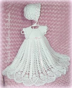 Christening Gown / Baptism / Blessing Gown by SweetSouthernBabies
