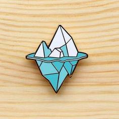 Image of Arctic Series – Iceberg Brooch