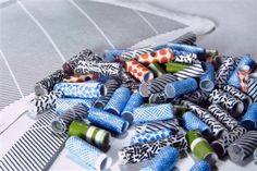 Make Modern Paper Beads from Security Envelopes