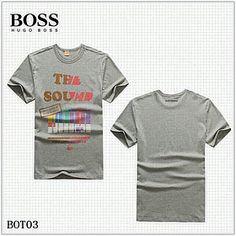 Vendre Pas Cher Homme Hugo Boss Tee Shirts H0118 En ligne En France.