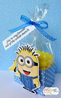 One In a Minion Blog Hop