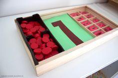 Montessori Zahlenmaterial