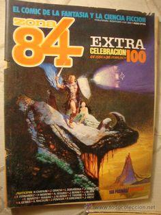 ZONA 84 - Nº 36 EXTRA CELEBRACION 100 TOTAIN EDITOR - EL COMIC DE LA FANTASÍA Y LA CIENCIA FICCIÓN