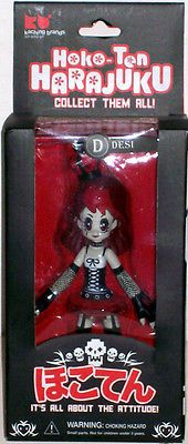 Hoko-Ten harajuku Desi #Goth girl action figure