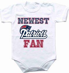 Baby bodysuit Newest fan New England Patriots football NFL One Piece  Bodysuit Funny Baby Child boy 6c407d294