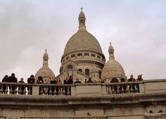 Paris, Montmartre, Basilica of the Sacré Cœur