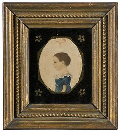 Miniature of Miss Mallery, Attributed to Rufus Porter