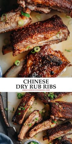 These super-simple dry rub ribs come out with a texture that melts in your mouth and a sweet yet spicy taste that makes them impossible to resist! Indian Food Recipes, Asian Recipes, Chinese Recipes, Lamb Recipes, Delicious Dinner Recipes, Lunch Recipes, Cookbook Recipes, Popular Recipes, Great Recipes
