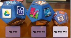 The App Dice Family has expanded. The middle one is HD because its laminated (so is the mini).