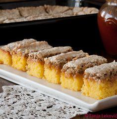 Fun Baking Recipes, Sweet Recipes, Cookie Recipes, Dessert Recipes, Croation Recipes, Bosnian Recipes, Torte Recipe, Kolaci I Torte, Torte Cake