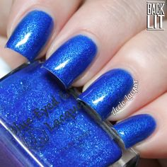 Blue-Eyed Girl Lacquer: It Got Away From Me, Yeah: A Long Time Ago Tomorrow
