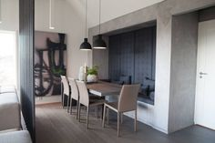Tid for hjem Modern Spaces, Kitchen Interior, Dining Area, My Dream Home, Interior Inspiration, Diy Furniture, Sweet Home, New Homes, Annex